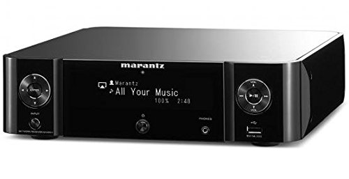 Marantz MCR511/N1B Melody Media Netzwerk-Receiver (Bluetooth, Airplay, Spotify Connect, Internetradio) schwarz