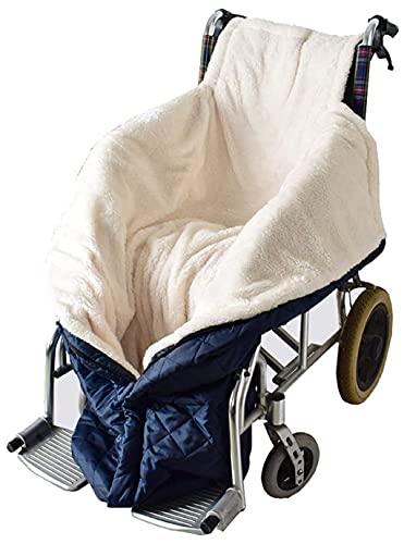Rollstuhldecke Beindecke, Fußsack Rollstuhl Erwachsene, Schlupfsack Fleece-Gefütterte Wasserdichte Und Komfortable Schlupfsack Rollstuhl Sack Für Die Meisten Elektrischen/Manuellen Rollstuhl