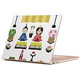 Surface Laptop Go 専用 スキンシール サーフェス ラップトップ ゴー ステッカー カバー ケース フィルム アクセサリー 保護 012859 ひな祭り 和 節句