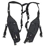 KEESIN Doppelseitige Taschen Brusttasche Universal Geschirr Taktisch Weste Rigg für die Zwei Wege Rettung im Freien