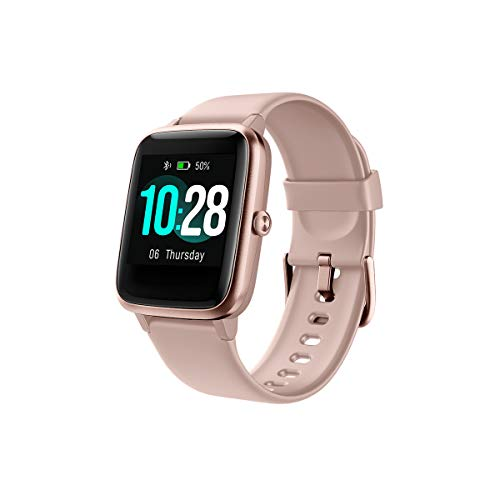 Smart Watch, Fitness Tracker with Heart Rate Monitor, 1.3-inch Touch Screen IP68 Waterproof Electronic Watch, with Sleep Monitor, Compatible with iPhone and Android Phones for Women Men