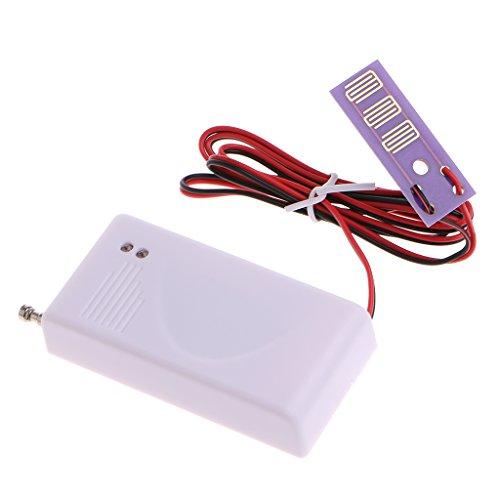 ZOUCY 1 PC 433 MHz Detector inalámbrico de Fugas del Sensor de Fuga de Agua para Alarma de Seguridad para el hogar