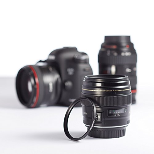AmazonBasics UV Protection Camera Lens Filter - 58mm