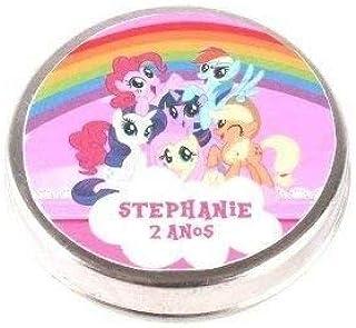Kit 30 Lembrancinha Potinho Alumínio My Little Pony