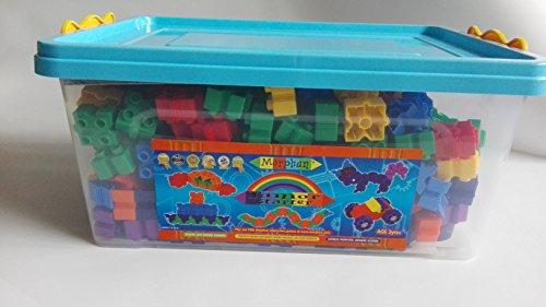 Morphun Junior Rainbow Set - 500 Steine in Aufbewahrungsbox - 41037PLRB