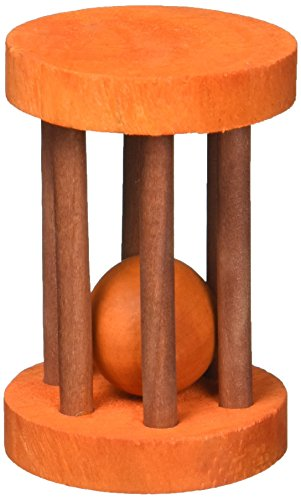 Ware Barrel Roller Wooden Rolling Chew Toy for Small Pets