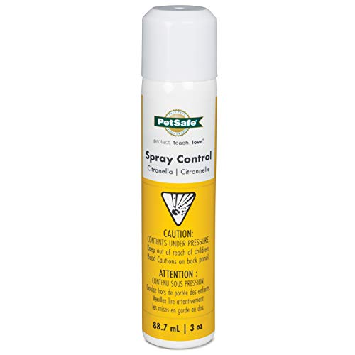 PetSafe Citronella Spray Can Refill for Spray Bark Control Collars and Remote Trainers