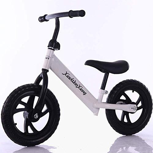 Bicicleta para Niños Niño freestyle moto Formación del niño Bike Balance Balance de bicicletas, Rojo 12' Sin bicicleta de pedales Caminar Formación de la bicicleta con asiento ajustable, por 2,3,4,5,6