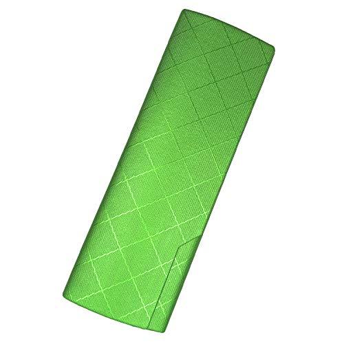 プルームテック プラス ケース (ひし型×グリーン) PloomTech Plus カバー スリム シンプル 無地 コンパクト キャリングケース