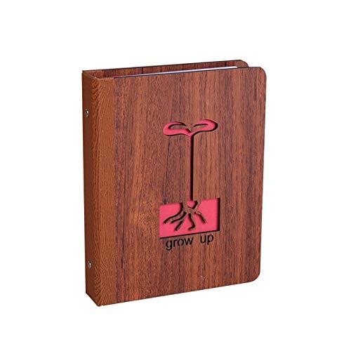 xinyawl Fotoalbum 6 Zoll 32 Blätter Memory Record geschnitzt E-Book Sbaby Tagebuch...