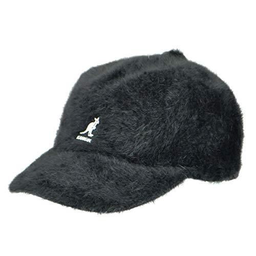 Kangol Herren Furgora Links Flat Brim Baseball Cap, schwarz, MEDIUM