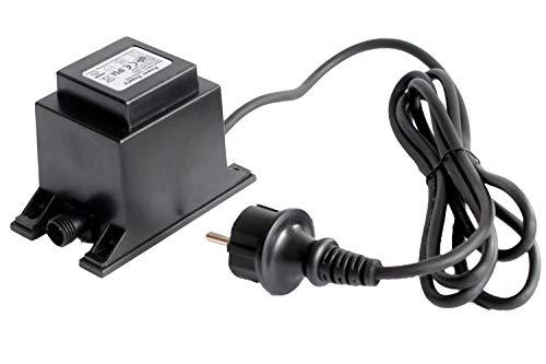 Arnusa Netzteil 3500mA 42W IP64 mit 1,90m Kabel 12V AC Trafo Transformator Springbrunnen Beleuchtung