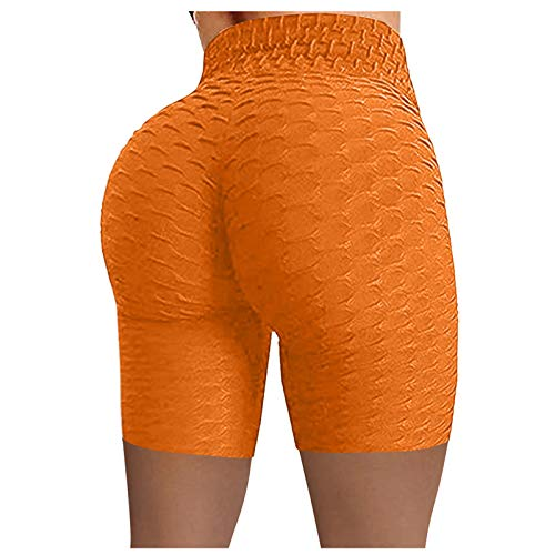 KYZRUIER Damen Butt Lift Sexy Gym Leggings Solide Hohe Taille Yoga Hosen Elastische Sport Strumpfhose Bauchkontrolle Workout Laufen