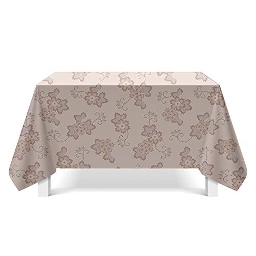 CYYyang Tafelkleed tafelkleed lotuseffect tafelkleden afdrukken textuurkaarten