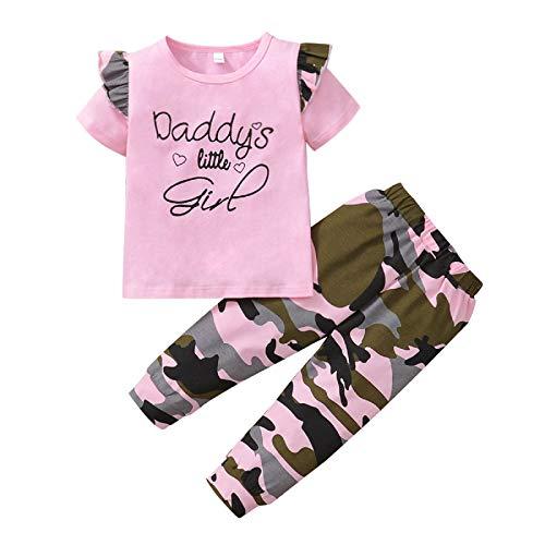 Borlai Little Sister, conjunto de ropa de girasol a juego para camisa, pantalones, ropa de 1 a 6 años
