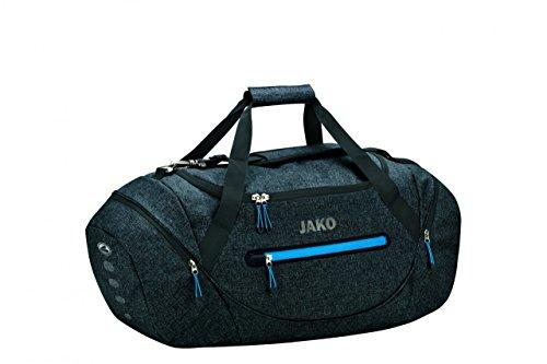 JAKO Sporttasche Champ, Größe:03, Farbe:schwarz meliert