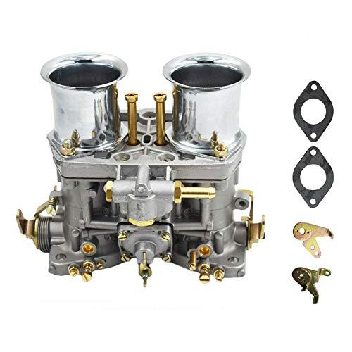 NuaDua Weber Carburetor, Carb for 40 IDF 2 Barrel Carb Replacement Bug Volkswagen Beetle VW Fiat Porsche - Manual Choke