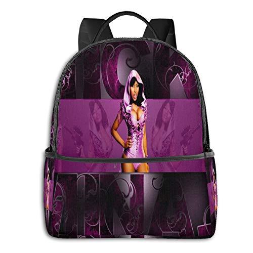 Nicki Minaj Unisex Travel Laptop Backpack 15 Inch