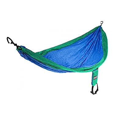 Eagles Nest Outfitters ENO SingleNest Hammock, Portable Hammock for One, Royal/Emerald