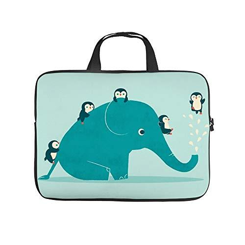 Neoprene Sleeve Laptop Handle Bag Handbag Notebook Case Cover Waterslide Portable MacBook Laptop/Ultrabooks Case Bag Cover 17 Inch