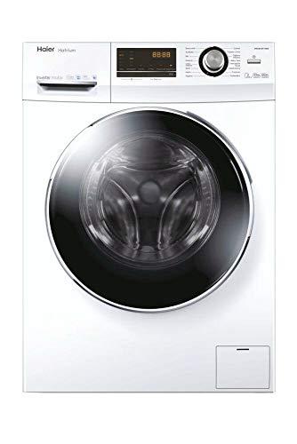 Haier HWD90-BP14636 Waschtrockner - 9 kg Waschen / 6 kg Trocknen - Inverter Motor, Weiß, 1400 U/Min
