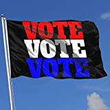 ~ Vote Vote Vote Breeze Flag 3 X 5-100% Polyester Single Layer Translucent Flags 90 X 150CM Banner 3' X 5' Ft