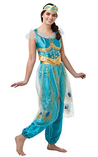 Rubies - Disfraz oficial de Aladdin de Disney Live Action, jazmín