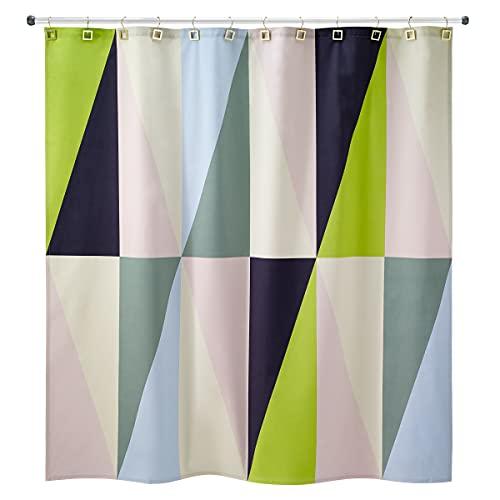 Avanti Linens Jonathan Adler Collection Harlekin Duschvorhang, Mehrfarbig