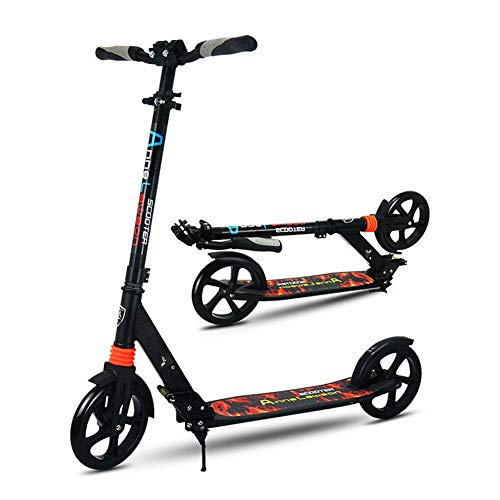 Learn More About Adult/Teen Kick Scooter with Big Wheels - Foldable Adjustable Portable Lightweight,...