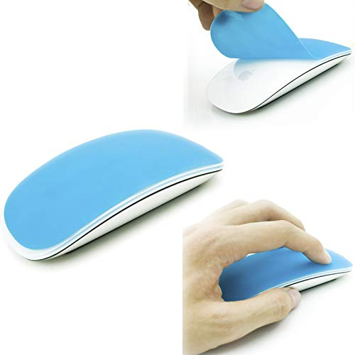 EWUOI Silicone Soft Mouse Protector Cover Skin For MAC Apple Magic Mouse(Magenta) (Color : Blue)