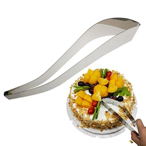 Ustensile de coupe et de service en acier inoxydable - Pelle à gâteau / pelle à pizza / couteau à pain / pelle à tarte / ustensile de coupe pratique Tortenmesser