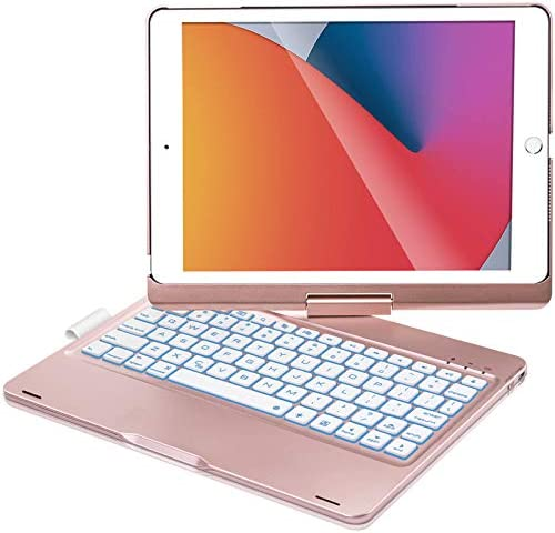 iPad Keyboard Case for iPad 10 2 inch 8th Gen 2020 iPad 7th Gen 2019 iPad Air 3 10 5 2019 iPad product image