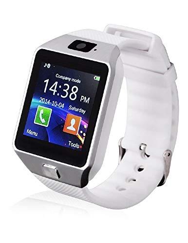 LKS Smartwatch LksTech Dz09 Multi-función BT,Cámara Frontal,Slot para Tarjeta Sim Y Microsd Blanco v1