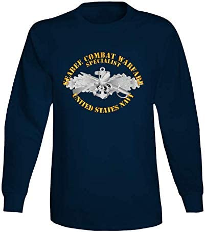 XLARGE - Navy Seabee Combat Warfare w Long Large special price !! Spec Txt Badge EM online shop