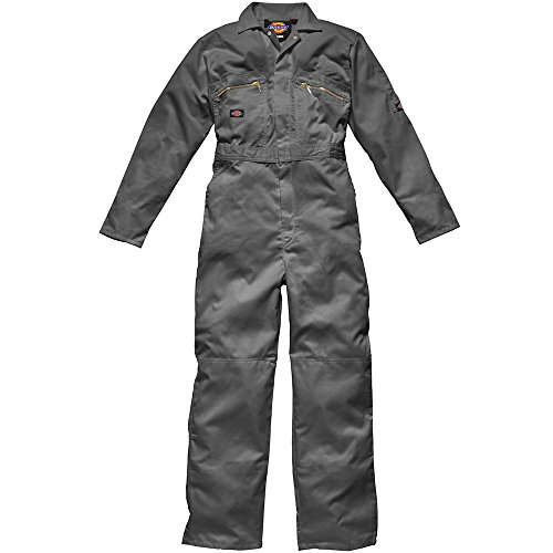 Dickies Herren WD4839 Arbeitsoverall, grau, X-Large