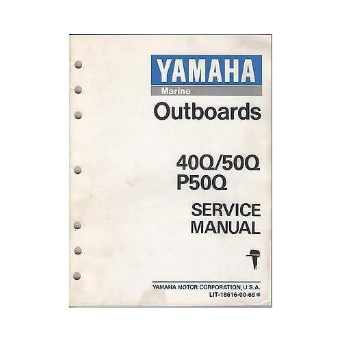 Yamaha Outboard Repair Manual: Amazon com