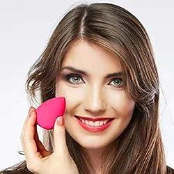 Beauty , Make-up Sponge, Beauty Blender, Make-Up Blender Sponge, 1-pack (1 x 4 pieces + make-up brush)