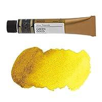 ミッションゴールドクラス 水彩絵具 (黄色系) グリーンゴールド 7mL (W600) d (mission gold class water color) [ 透明水彩絵具 専門家用 アーチスト 画材 絵画 水彩画 透明 水彩絵の具 えのぐ 単色 ]