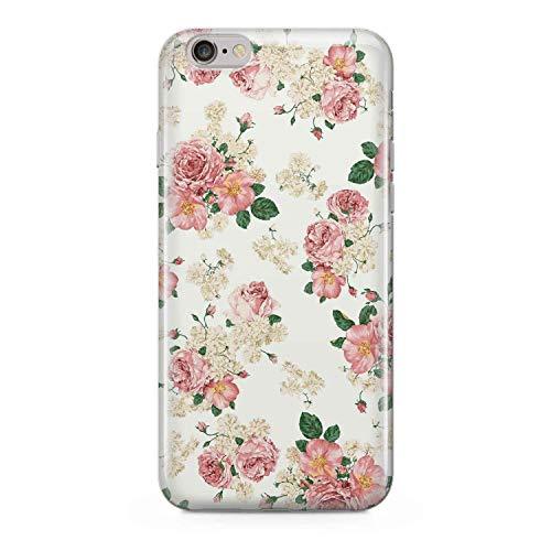 finoo   iPhone 6 und 6S Hard Case Handy-Hülle mit Motiv   dünne stoßfeste Schutz-Cover Tasche in Premium Qualität   Premium Case für Dein Smartphone  Rosen