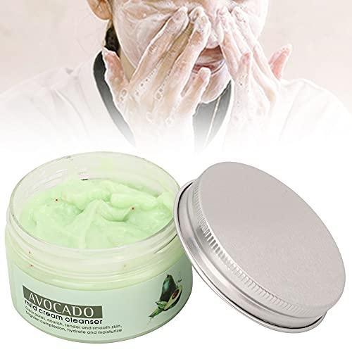 Rodillo de masaje de espuma, extracto de aguacate vibrante con extractos de plantas Limpieza de la piel