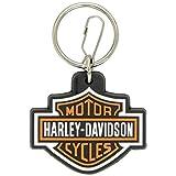 Harley Davidson Portachiavi in Gomma con Logo