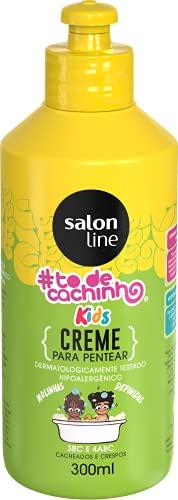 Creme para Pentear #Tô de Cacho - Kids Liberado, 300 ml, Salon Line, Salon Line, Branco