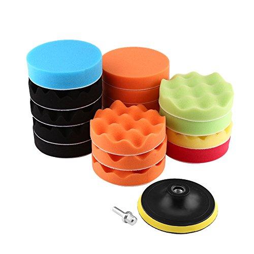 Almohadillas de pulidora para coche Almohadillas de pulido para coche para neumáticos(4 inches (M10 screw))