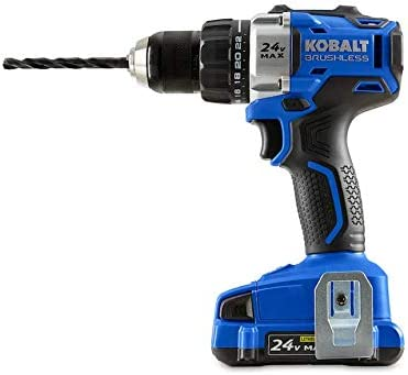 Kobalt Brushless Drill おすすめ 好評受付中 Driver KDD Battery 524B-03 Charger n and