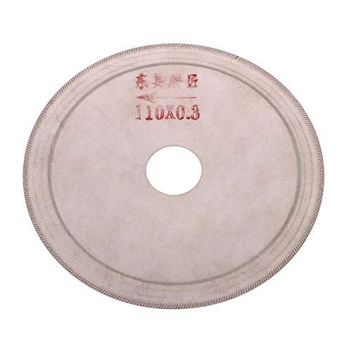 Z-LIANG Helicoidal delgada de diamante de sierra herramienta de corte de piedra de jade de ágata 80 mm, cuando 100mm, 110 milímetros por debajo, 120 mm, 150 mm Herramientas (Color : 80mm)