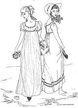 regency gown pattern