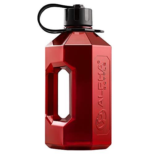 Alpha butelka, czerwony/czarny, XXL