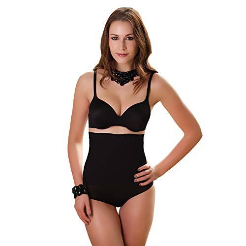 Skin Wrap Shapewear Damen - Taillenformer Bauchweg Body Shaper Damen Korsett Waist Trainer Korsage Damen - leicht & formend in Schwarz Größe S