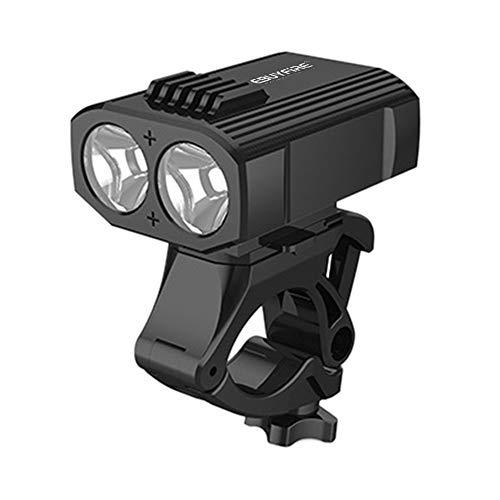 TTSJSM Luce Bicicletta,Luci per Bicicletta Mini Luce della Bicicletta LED USB Moto Ricaricabile in Bicicletta Anteriore Lampada Posteriore fanali Posteriori LED di Campeggio (Color : EB16 x Leggings)