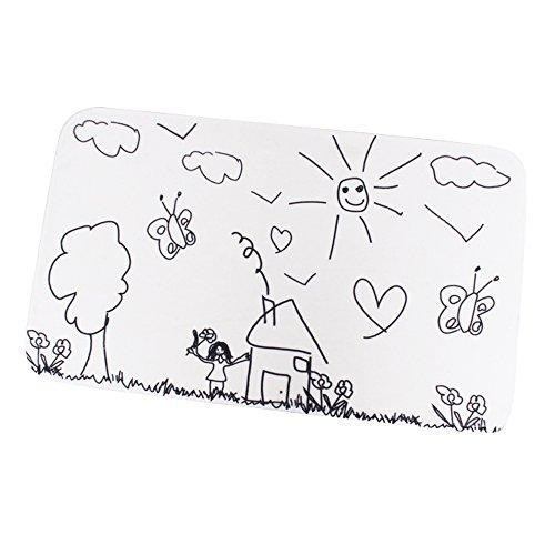 MSV Jardin d'enfant en Microfibre Tapis de Bain 45 x 75 cm
